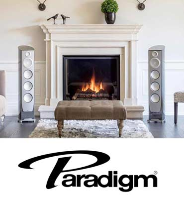 Paradigm home stereo and home audio speakers