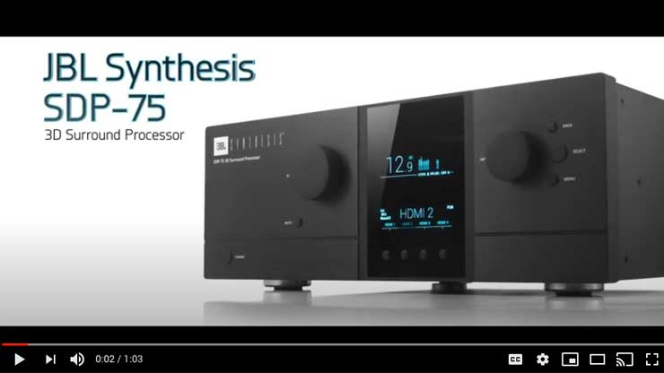 JBL Synthesis Electronics | Video